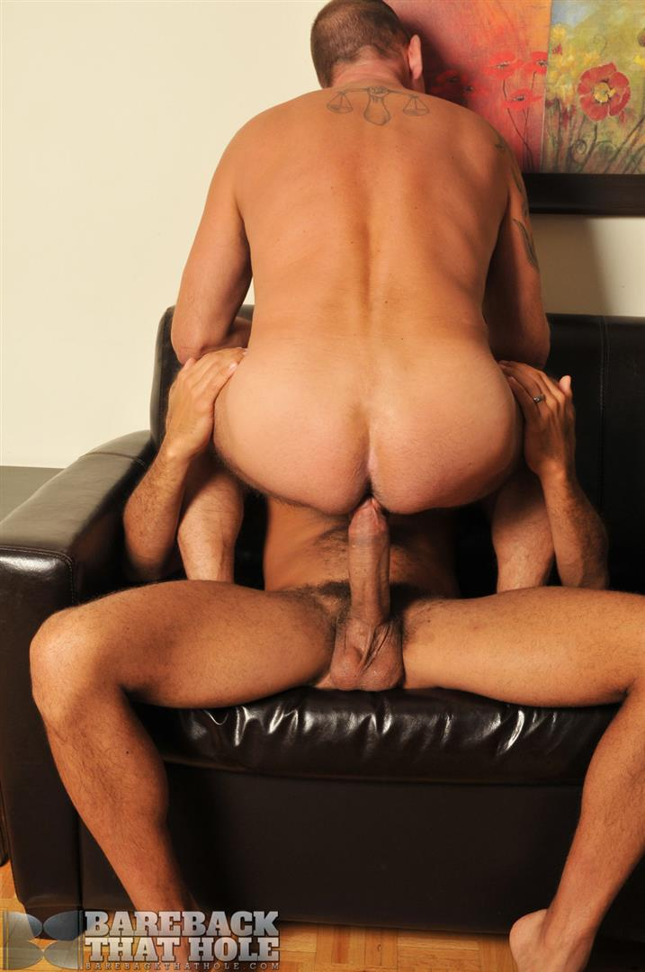 "Bareback-That-Hole-Antonio-Biaggi-and-Pierce-Miller-BBBH-Huge-Cock-Bareback-Fucking-Amateur-Gay-Porn-06 Antonio Biaggi Barebacks A Pierced Daddy With His 12"" Uncut Cock"