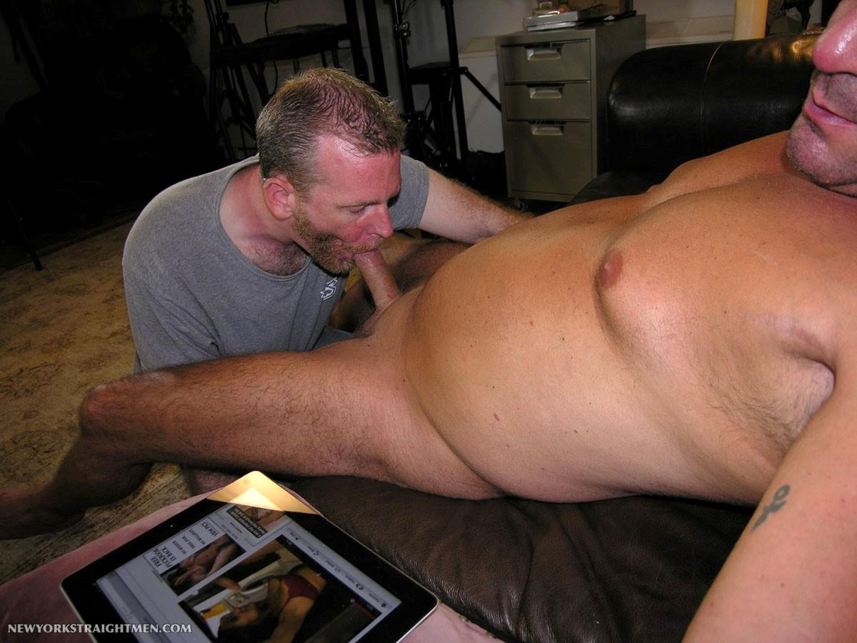 straight guy playing a gay guy in porn
