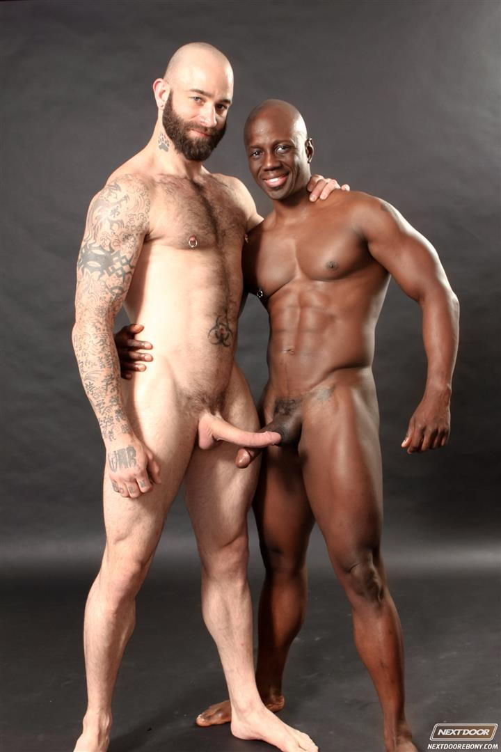 Big Black Dick Fucking White Guy