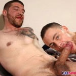 UK-Naked-Men-Jeff-Stronger-and-Sam-Bishop-Hairy-Daddy-Fucking-A-Younger-Hairy-Guy-Amateur-Gay-Porn-01-150x150 Amateur Muscular Hairy Daddy Fucks His Younger Hairy Buddy