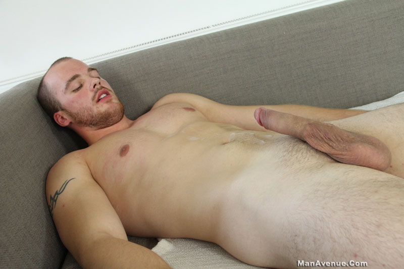 Man-Avenue-John-Twist-Straight-Muscle-Hunk-Jerking-Big-Cock-Amateur-Gay-Porn-11 Amateur Straight Muscle Hunk Jerking His Big Cock Until He Shoots
