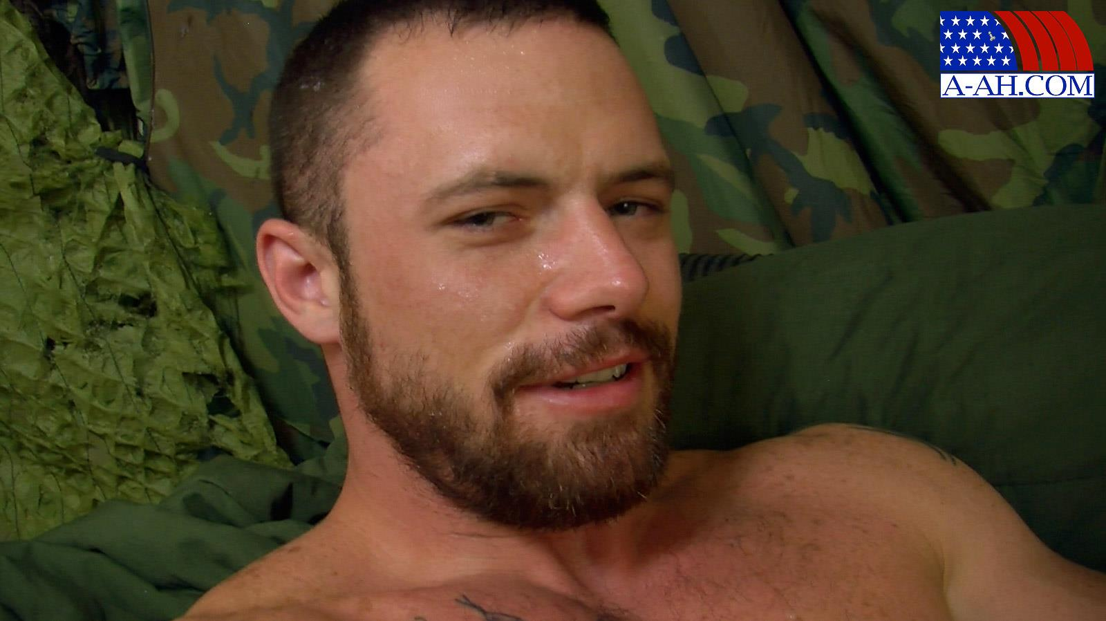 All-American-Heroes-Sergeant-Miles-Army-Guy-Jerking-Off-Big-Cock-And-Fingering-Ass-Amateur-Gay-Porn-15 Happy Veterans Day: Straight US Army Sergeant Jerks His Thick Cock