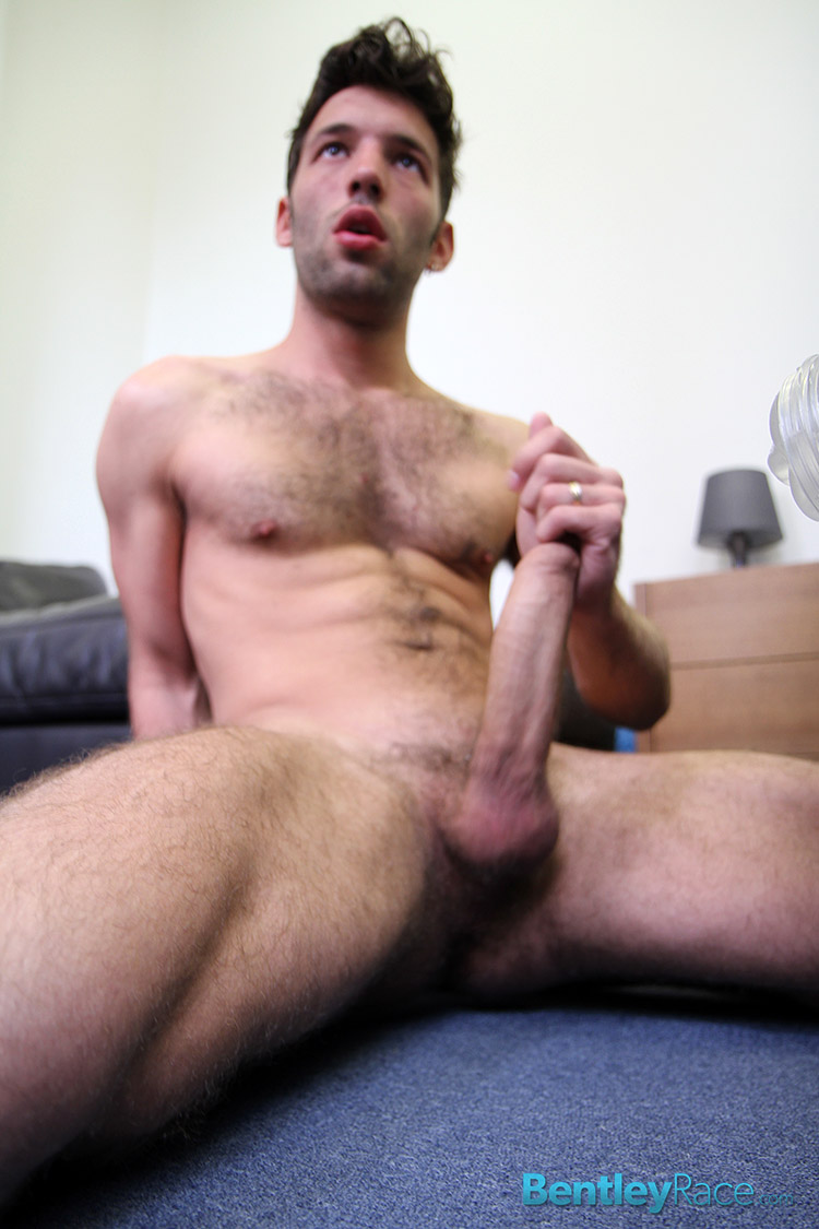 Bentley-Race-Lucas-Duroy-Huge-Uncut-Cock-Jerking-Off-Amateur-Gay-Porn-14 24 Year Old Hairy French Stud Jerks His Huge Uncut Cock