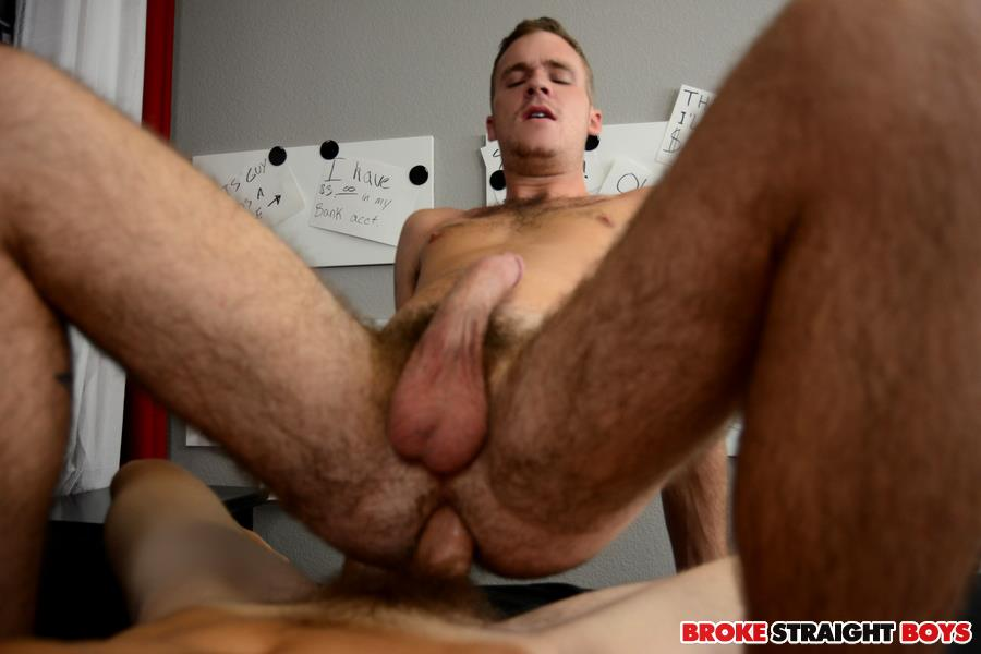 Gay sex man broke fucked angry cock