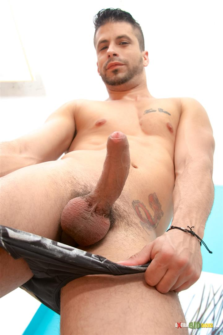 Large Gay Male Penis -