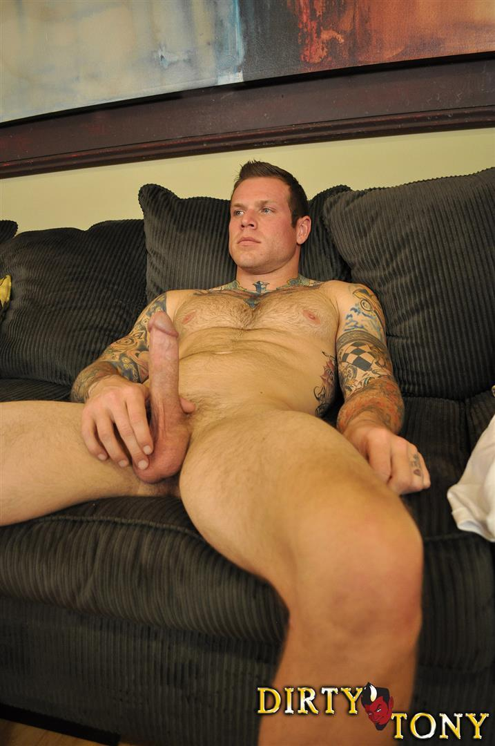 Dirty-Tony-Conor-Michaels-Straight-Hunk-Jerking-His-Big-Cock-Amateur-Gay-Porn-11 Amateur Straight Hairy Tatted Muscle Hunk Stroking His Thick Cock