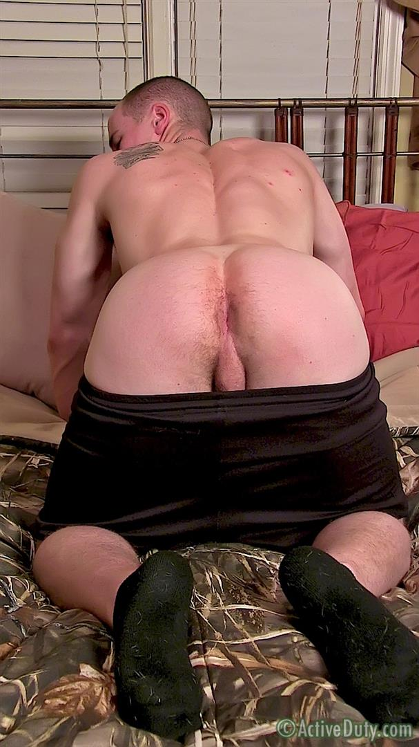 ActiveDuty-Orion-Ripped-Army-Guy-Jerking-His-Big-Cock-Amateur-Gay-Porn-11 Straight US Army Soldier Orion Jerking His Thick Cock