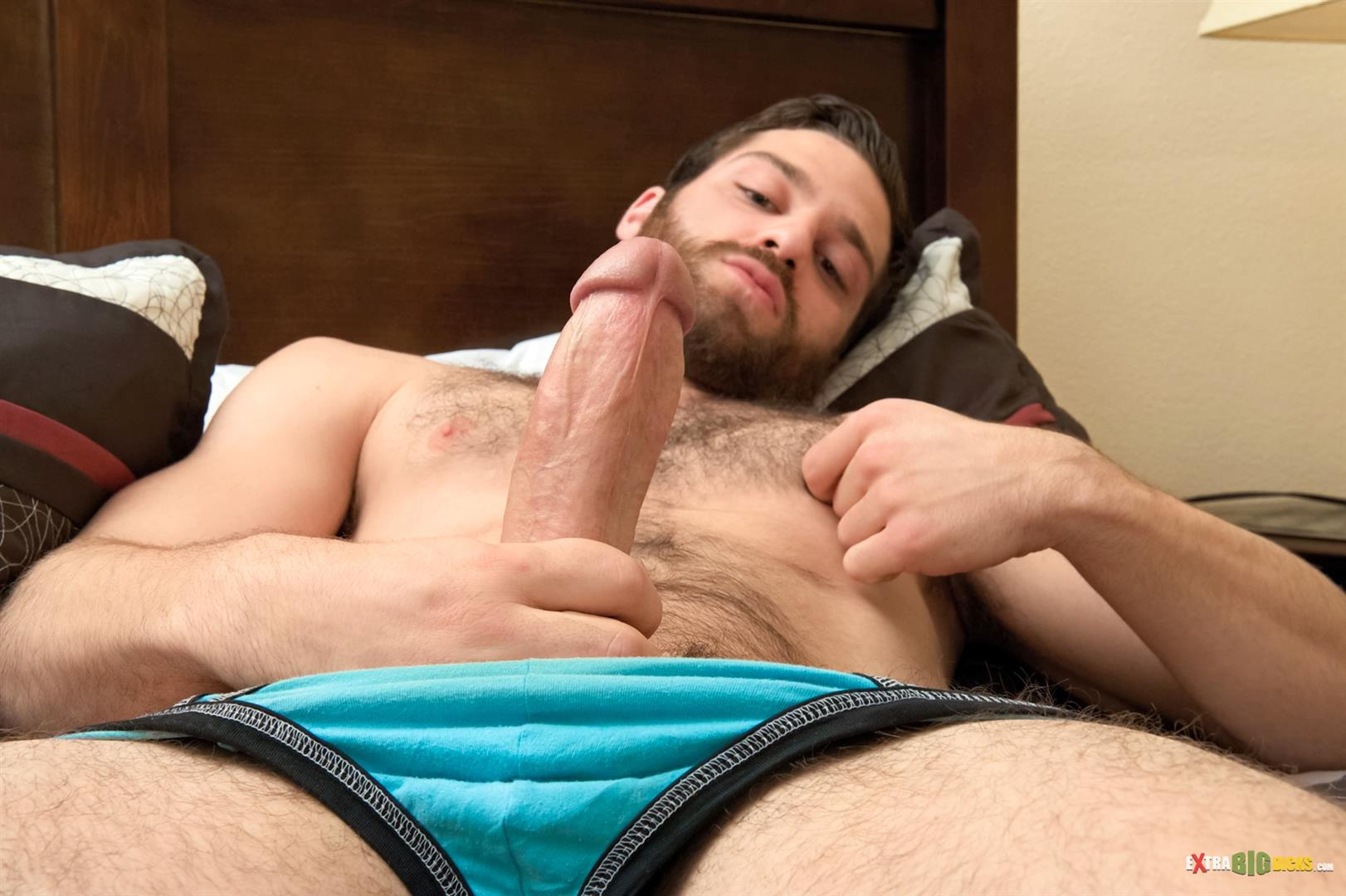 Extra-Big-Dicks-Tommy-Defendi-Hairy-Muscle-Guy-Jerking-Off-Amateur-Gay-Porn-06 Hairy Muscle Stud Tommy Defendi Jerking Off His Big Thick Cock