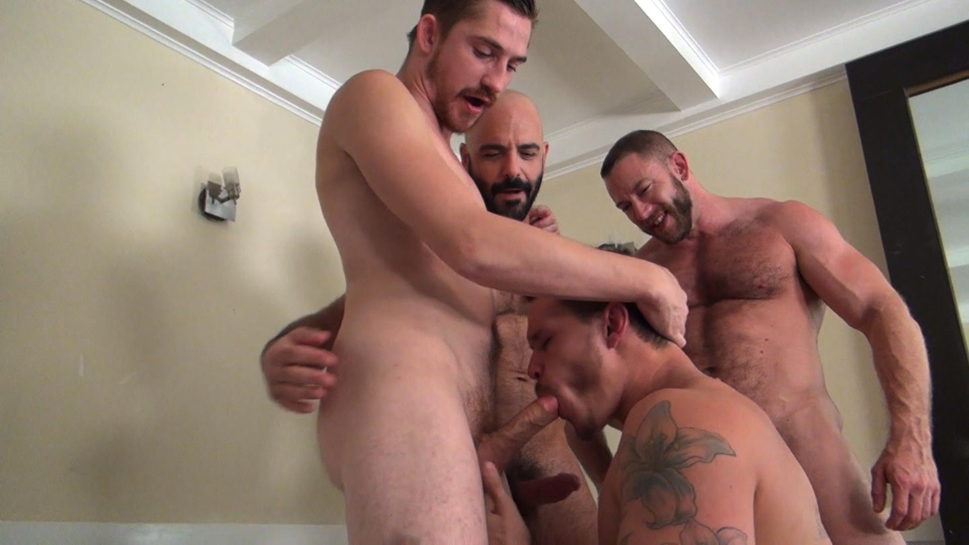 Raw-Fuck-Club-Dayton-OConnor-Tate-Ryder-Shay-Michaels-Adam-Russo-Bareback-Breeding-Amateur-Gay-Porn-4 Tate Ryder Gets Three Hairy Muscle Daddy Bareback Cocks