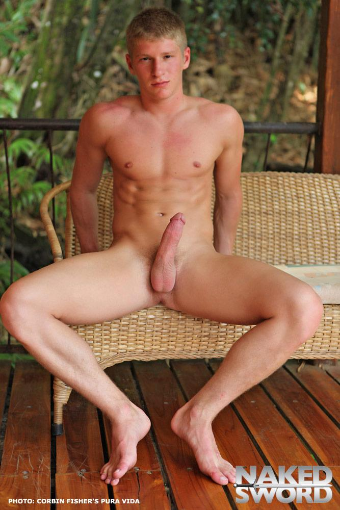 NakedSword Corbin Fisher Pura Vida College Guys With Big Cocks His Big Cock Amateur Gay Porn 04 Corbin Fisher: Beautiful College Guys Fucking Bareback