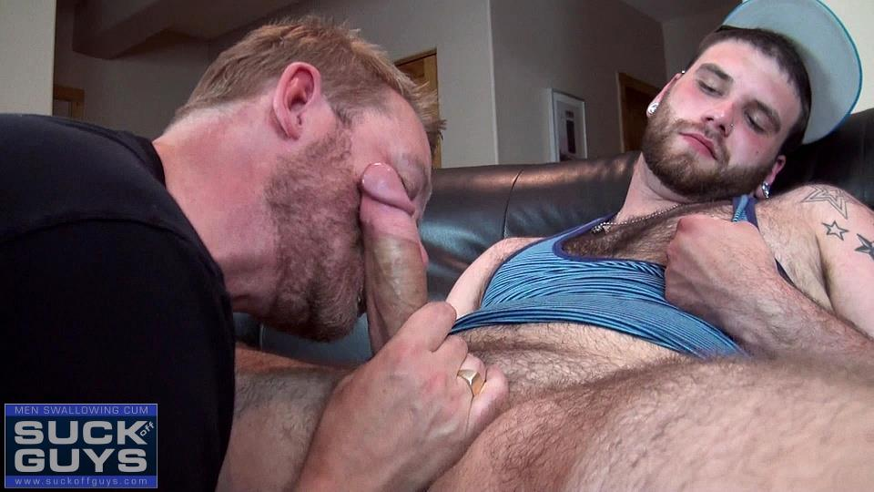 Suck-Off-Guys-Tyler-Beck-and-Aaron-French-Young-Hairy-Beefy-Guy-With-A-Thick-Hairy-Cock-Amateur-Gay-Porn-20 21 Year Old Hairy and Hung Stud Gets His Thick Cock Sucked