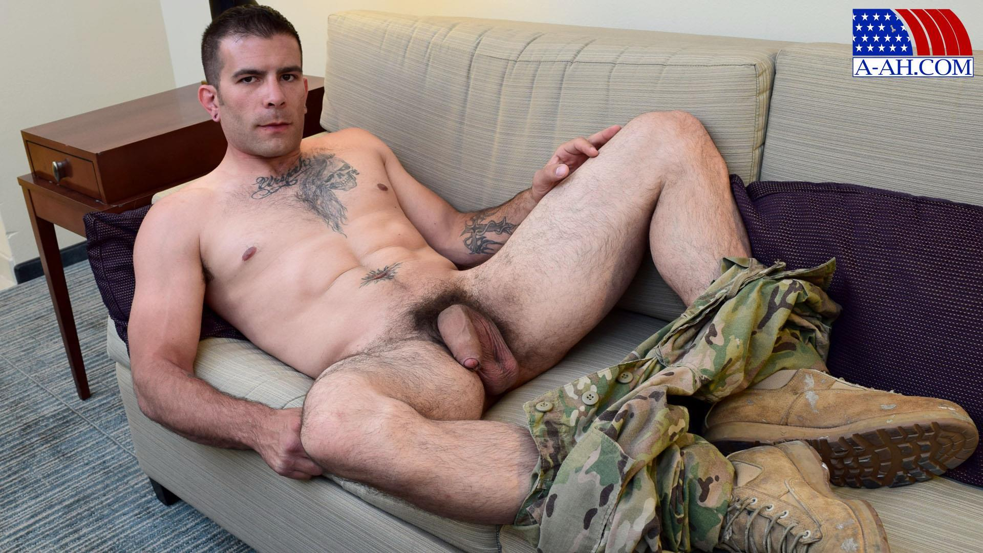 All American Heroes JB US Amry Soldier Jerking His Big Uncut Cock Amateur Gay Porn 09 Amateur Straight US Army Specialist Stroking His Big Uncut Cock