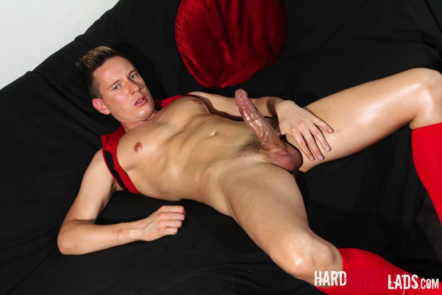 Hard-Brit-Lads-James-Hard-Soccer-Player-Jerking-his-Big-Uncut-Cock-Amateur-Gay-Porn-20 Straight Soccer Player Jerking Off His Huge Uncut Cock