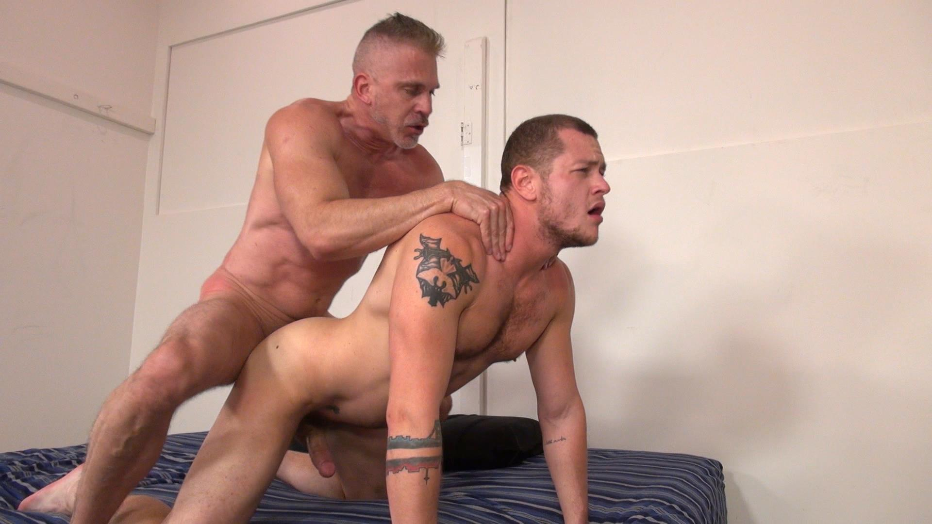 Raw and Rough Sam Dixon and Blue Bailey Daddy And Boy Flip Flip Bareback Fucking Amateur Gay Porn 05 Blue Bailey Flip Flop Barebacking With A Hung Daddy