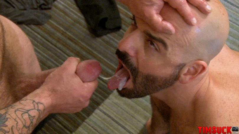 Treasure Island Media TimSuck Rocco Steele and Adam Russo Sucking A Big Cock Eating Cum Amateur Gay Porn 7 Adam Russo Eats A Big Load of Cum From Rocco Steele