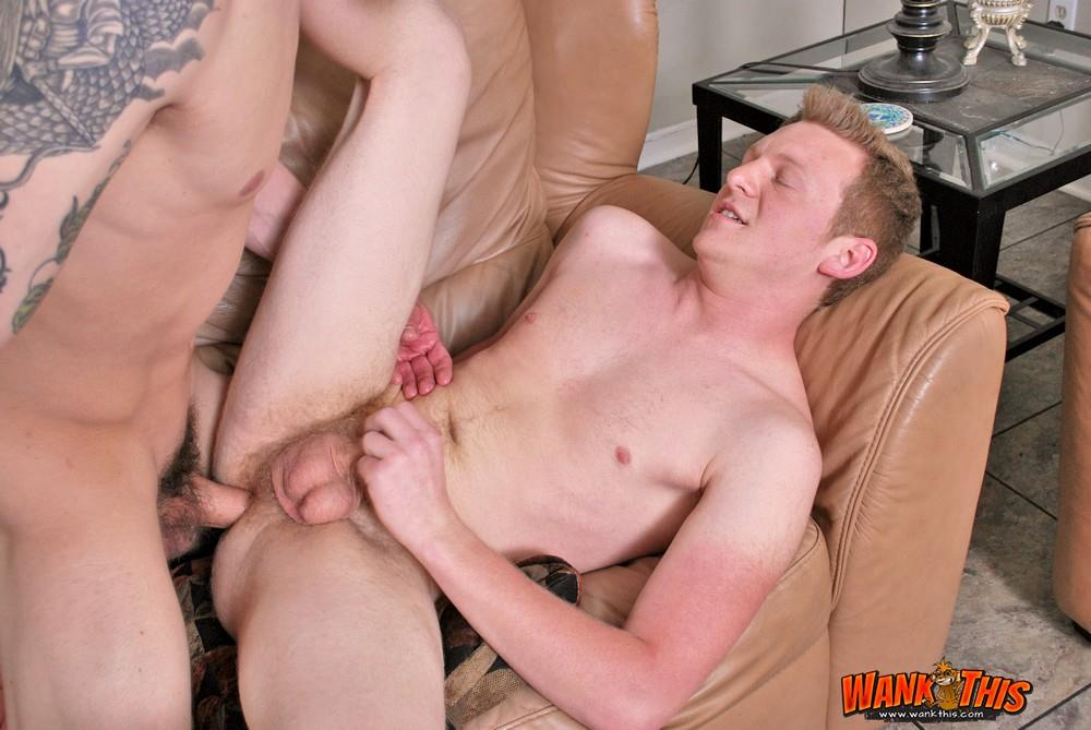 Wank-This-Ethan-Blue-and-Scotty-Cage-Bareback-Twinks-With-Huge-Cocks-Redhead-Amateur-Gay-Porn-15 Redheaded Twink Takes A Huge Bareback Cock Up The Ass