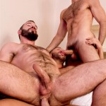 Raging Stallion Donato Reyes and Dario Beck and Alessio Veneziano Hairy Muscle Bears With Big Uncut Cocks Fucking Amateur Gay Porn 13 150x150 Hairy Muscle Bear Hustlers With Big Uncut Cocks Fucking A John
