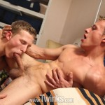 Robin Borg and Steve Johanson Muscle Twinks Fuck Bareback With Huge Cum Facial Amateur Gay Porn 06 150x150 Muscle Twink Barebacks His Buddy And Cum On His Face
