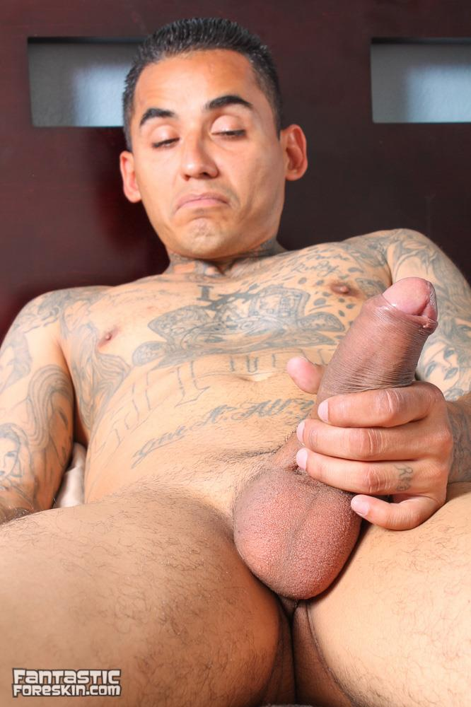 Fantastic-Foreskin-Drew-DAgosto-and-Little-Ray-Big-Uncut-Cock-Straight-Thug-Latinos-Fucking-Amateur-Gay-Porn-12 Straight Uncut Latino Thug Fucks His Younger Buddy With His Big Uncut Cock