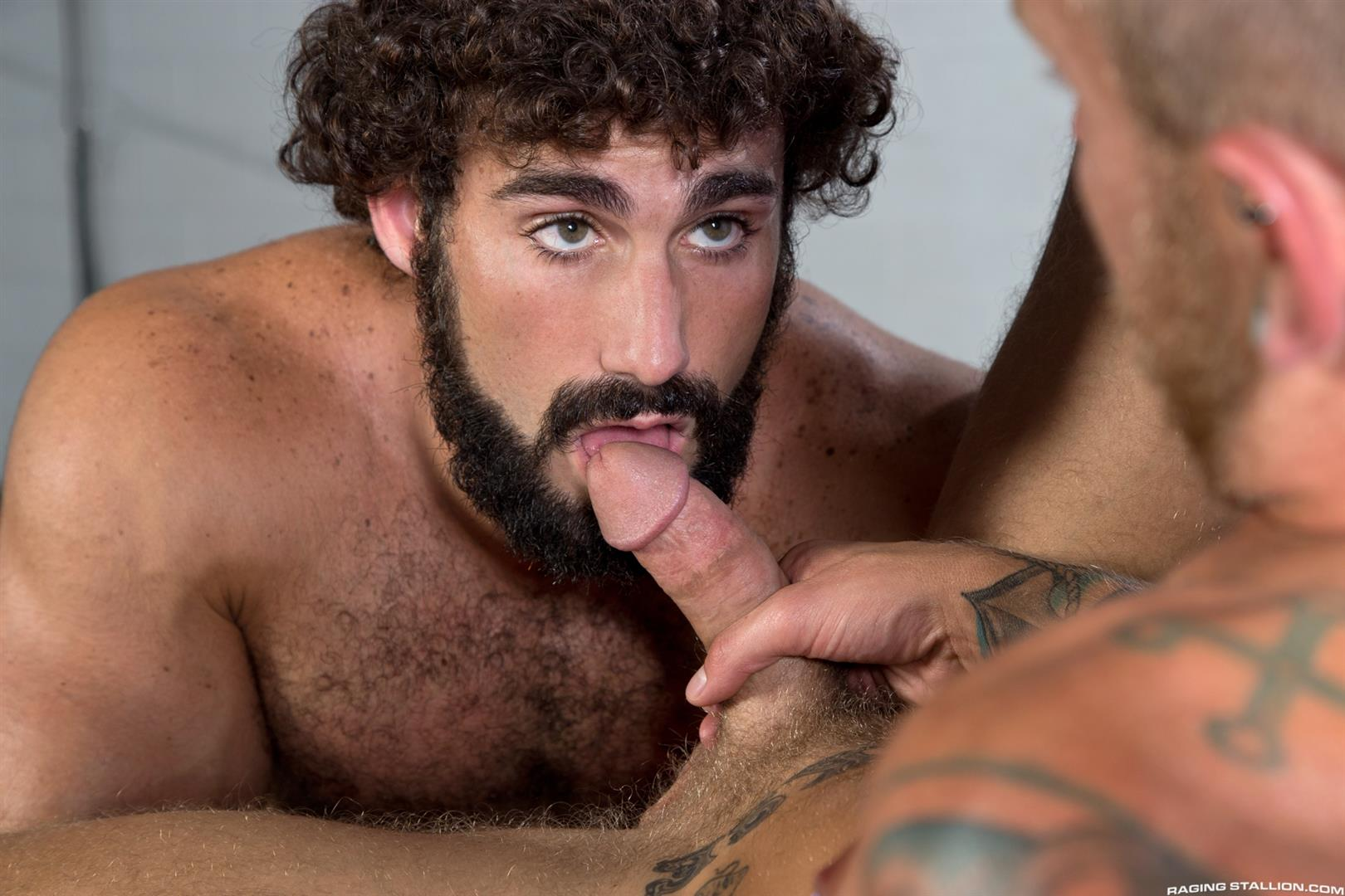 Straight men sucking cock gay public