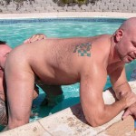 Bear Films Marc Angelo and Wade Cashen Hairy Muscle Bears Fucking Bearback Amateur Gay Porn 10 150x150 Hairy Muscle Bears Fucking Bareback At The Pool