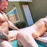 Bear Films Marc Angelo and Wade Cashen Hairy Muscle Bears Fucking Bearback Amateur Gay Porn 12 150x150 Hairy Muscle Bears Fucking Bareback At The Pool