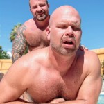 Bear Films Marc Angelo and Wade Cashen Hairy Muscle Bears Fucking Bearback Amateur Gay Porn 15 150x150 Hairy Muscle Bears Fucking Bareback At The Pool