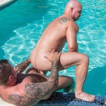 Bear Films Marc Angelo and Wade Cashen Hairy Muscle Bears Fucking Bearback Amateur Gay Porn 16 150x150 Hairy Muscle Bears Fucking Bareback At The Pool
