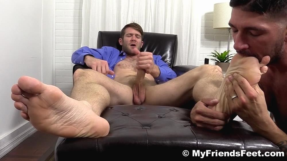 My-Friends-Feet-Colby-Keller-and-Johnny-Hazzard-Jerking-Off-And-Feet-Worship-Amateur-Gay-Porn-19 Colby Keller Jerks Off While Getting His Feet Worshipped By Johnny Hazzard