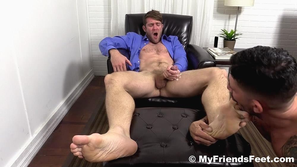 My-Friends-Feet-Colby-Keller-and-Johnny-Hazzard-Jerking-Off-And-Feet-Worship-Amateur-Gay-Porn-20 Colby Keller Jerks Off While Getting His Feet Worshipped By Johnny Hazzard