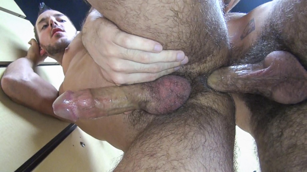 Hairy naked older men