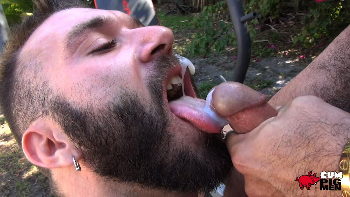 Cum Pig Men Alessio Romero and Ethan Palmer Hairy Muscle Latino Daddy Cocksucking Amateur Gay Porn 24 Hairy Latino Muscle Daddy Gets A Load Sucked Out And Eaten