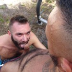 Cum Pig Men Alessio Romero and Ethan Palmer Hairy Muscle Latino Daddy Cocksucking Amateur Gay Porn 44 150x150 Hairy Latino Muscle Daddy Gets A Load Sucked Out And Eaten