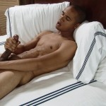 Southern Strokes Wesley Black Twink With A Big Black Uncut Cock Amateur Gay Porn 19 150x150 Black Texas Twink Jerking Off His Big Black Curved Cock
