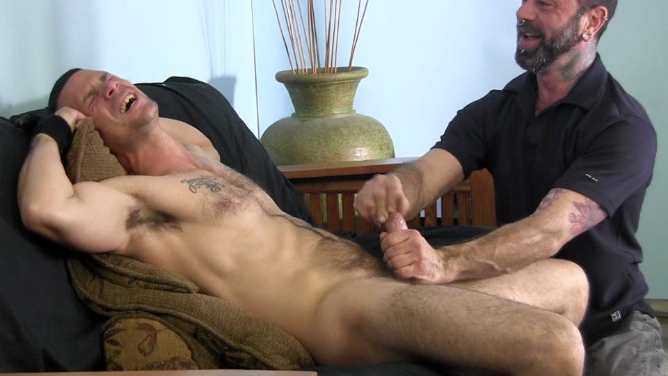 having a good solo anal session gay
