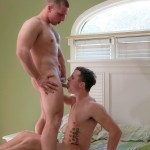 Active Duty Niko and Sawyer Army Buddies Flip Flop Fucking Big Cock Amateur Gay Porn 04 150x150 Hung Muscular Straight Army Buddies Flip Flop Fucking