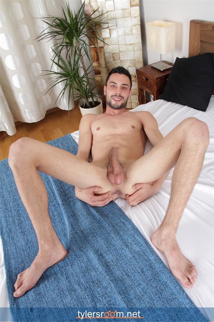 Tylers-Room-Lukas-Novy-Naked-Czech-Guy-With-A-Big-Uncut-Cock-Amateur-Gay-Porn-13 Young Czech Guy Lukas Novy Auditions For Gay Porn With His Big Uncut Cock