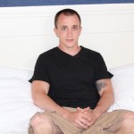 Active-Duty-James-Straight-Army-Guy-Jerking-Off-His-Big-Cock-Amateur-Gay-Porn-04-150x150 Tatted Straight Army Hunk Auditions For Gay Porn and Shoots A Big Load
