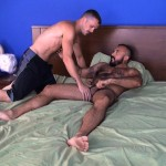 Cum Pig Men Jimmie Slater and Alessio Romero Hairy Muscle Daddy Getting Blow Job Amateur Gay Porn 01 150x150 Jimmie Slater Sucks A Load Of Cum Out Of Hairy Muscle Daddy Alessio Romero