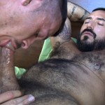 Cum Pig Men Jimmie Slater and Alessio Romero Hairy Muscle Daddy Getting Blow Job Amateur Gay Porn 14 150x150 Jimmie Slater Sucks A Load Of Cum Out Of Hairy Muscle Daddy Alessio Romero