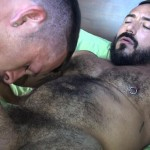 Cum Pig Men Jimmie Slater and Alessio Romero Hairy Muscle Daddy Getting Blow Job Amateur Gay Porn 26 150x150 Jimmie Slater Sucks A Load Of Cum Out Of Hairy Muscle Daddy Alessio Romero