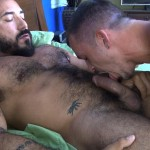 Cum Pig Men Jimmie Slater and Alessio Romero Hairy Muscle Daddy Getting Blow Job Amateur Gay Porn 48 150x150 Jimmie Slater Sucks A Load Of Cum Out Of Hairy Muscle Daddy Alessio Romero