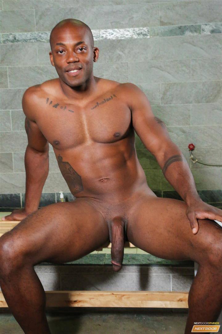 Next-Door-Ebony-Krave-Moore-and-Osiris-Blade-Big-Black-Cocks-Dicks-Fucking-Amateur-Gay-Porn-03 Muscular Black Guys Take Turns Fucking Each Other In The Locker Room
