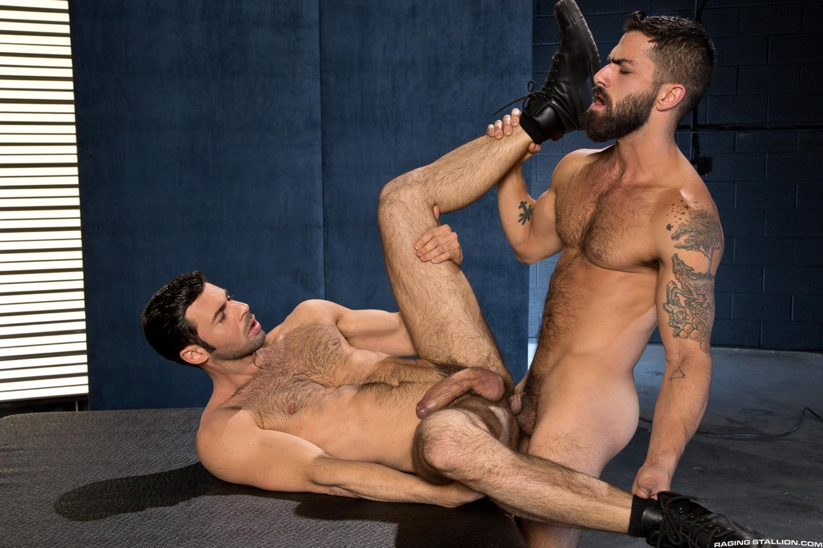 Raging-Stallion-Adam-Ramzi-and-Dario-Beck-Hairy-Ass-And-A-Big-Uncut-Cock-Amateur-Gay-Porn-14 Fucking A Hairy Ass Muscle Jock Ass With A Big Uncut Cock