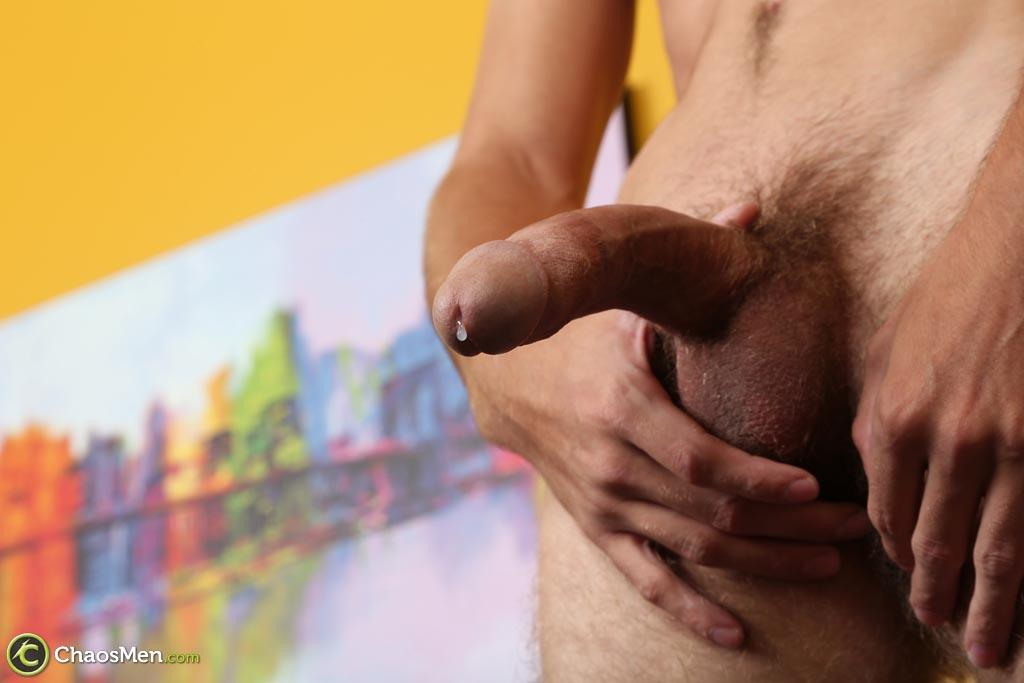 "Chaosmen-Augustine-Straight-Guy-With-A-Big-Horse-Cock-Amateur-Gay-Porn-38 Skinny Redneck With A Hairy Ass Stroking His 10"" Cock"