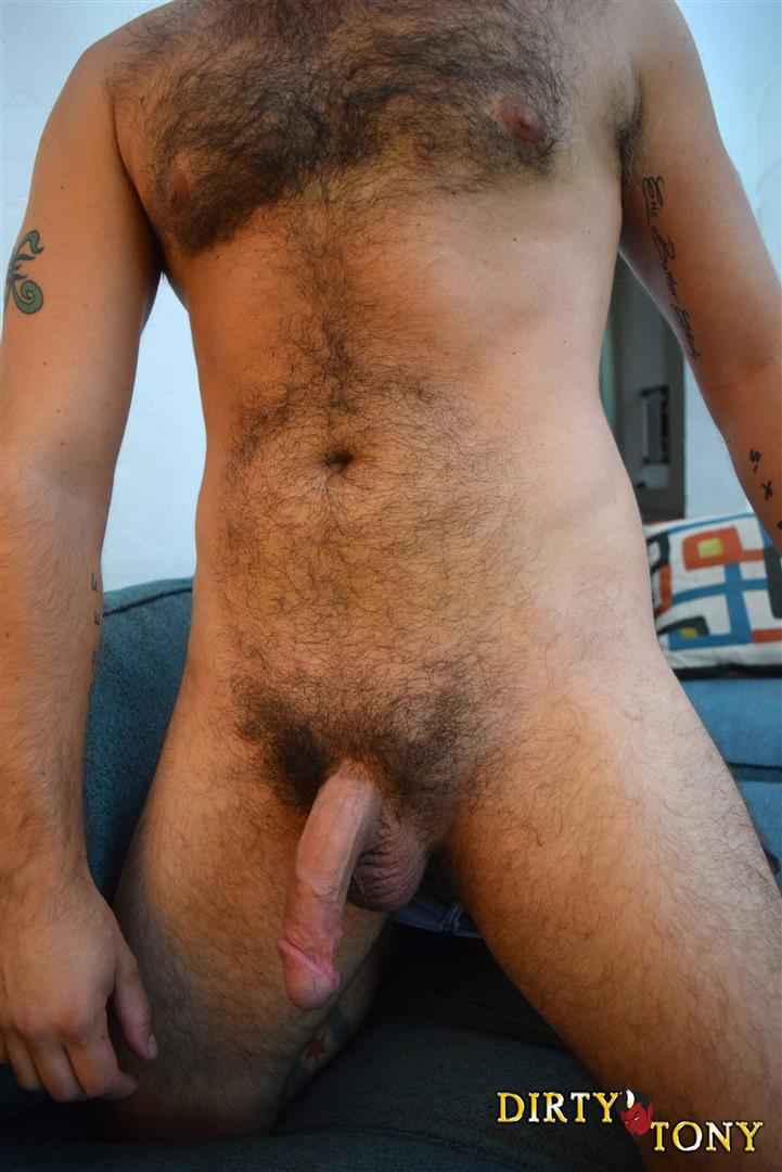 Dirty-Tony-Damon-Andros-Hairy-Otter-With-A-Thick-Cock-Amateur-Gay-Porn-12 Jocked Up Furry Otter Stroking His Thick Cock