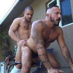 Dudes Raw Alessio Romero and Mario Cruz Bareback Muscle Daddy Latino Amateur Gay Porn 41 150x150 Muscle Daddy Alessio Romero Gets Bred By Mario Cruz