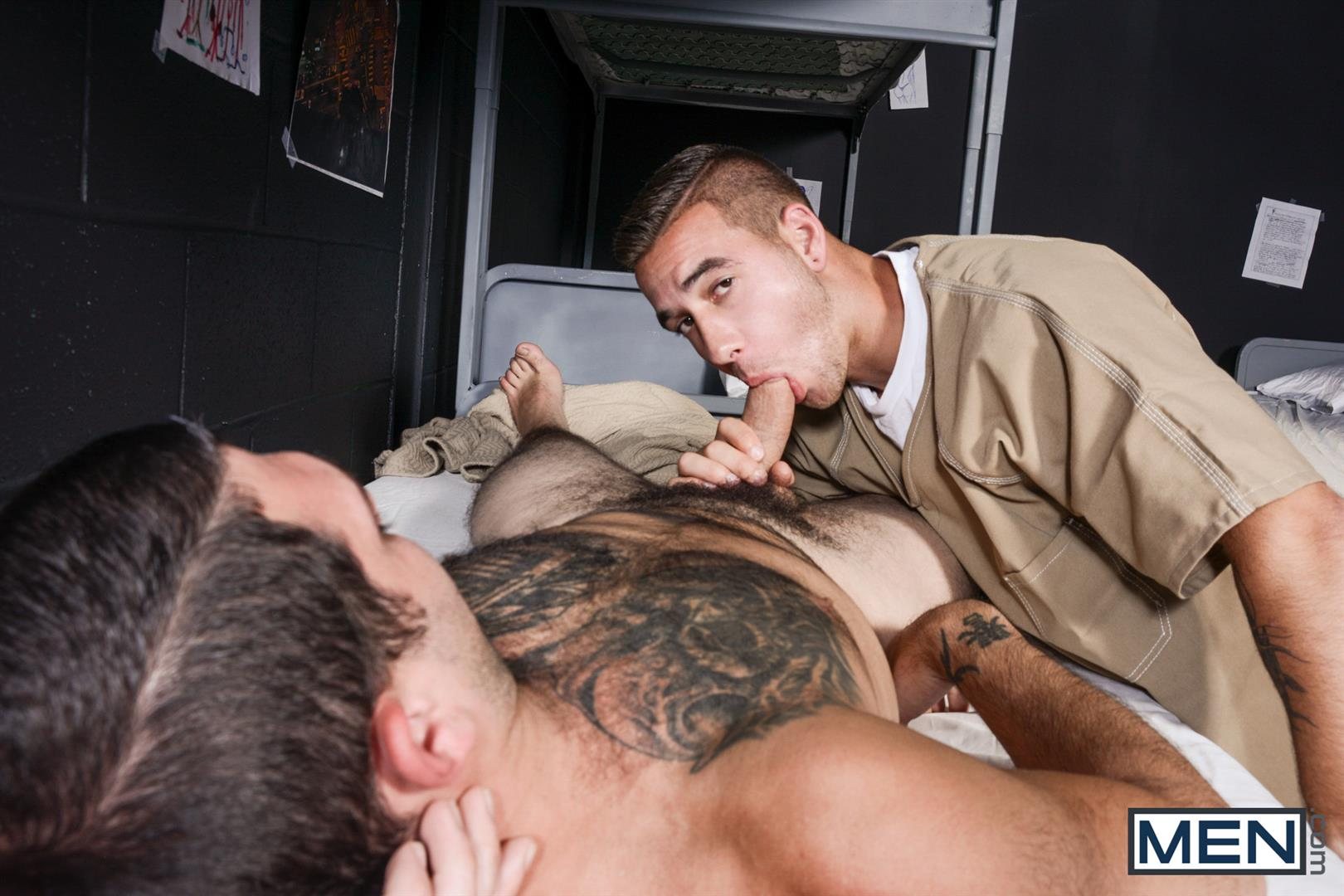 Men Tony Paradise and Dimitri Kane Straight Men Having Sex in Prison Amateur Gay Porn 11 Learning How To Survive In Prison By Taking Cock