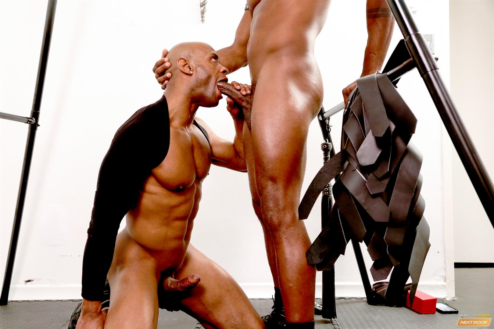 Marlone Starr and Osiris Blade Next Door Ebony Big Black Cocks Fucking Amateur Gay Porn 12 Osiris Blade Takes Marlone Starrs Massive Horse Cock Up The Ass