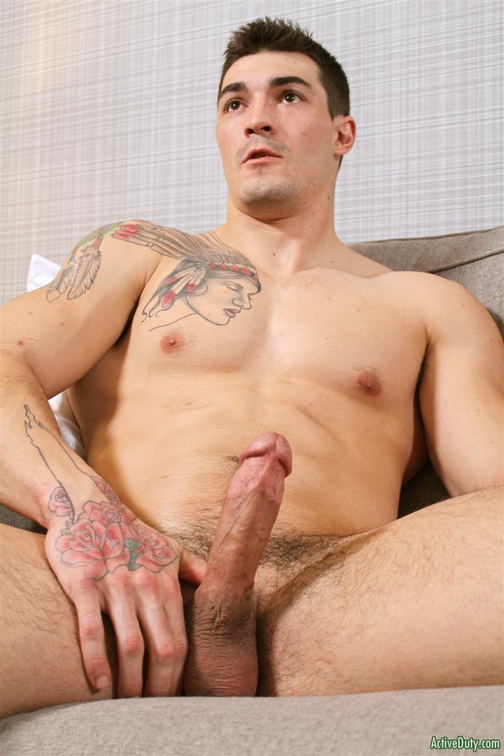 Active-Duty-Scott-Straight-Muscular-Army-Jock-Naked-Jerk-Off-Amateur-Gay-Porn-11 Straight Muscular Army Jock Auditions For Gay Porn